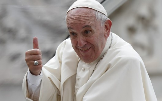 Image result for Pope Francis and young people
